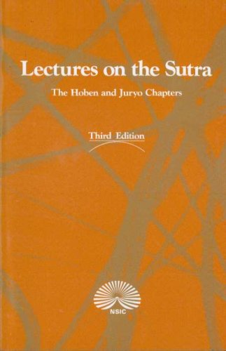Lectures on the Sutra: The Hoben and Juryo Chapters: Nichiren Shoshu International Center
