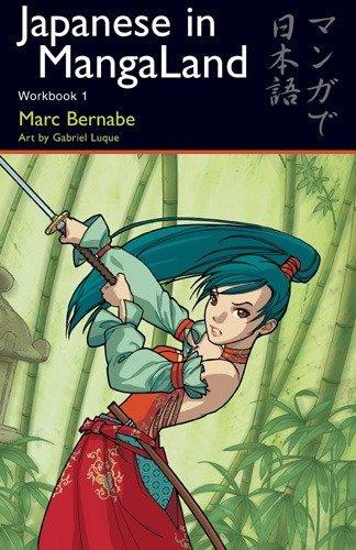 9784889962086: Japanese in Mangaland: Workbook 1