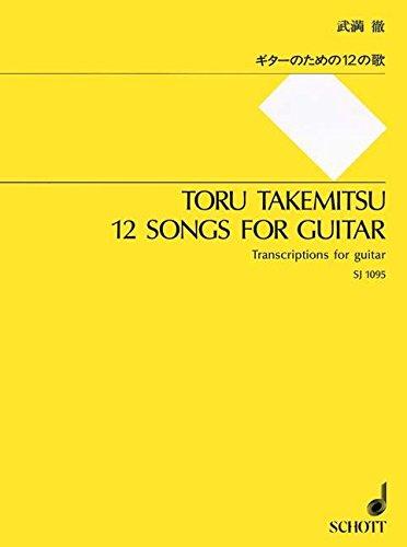 9784890663958: Songs(12) Git. Guitare