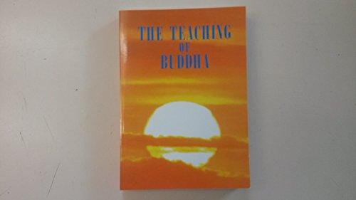 Teaching of Buddha