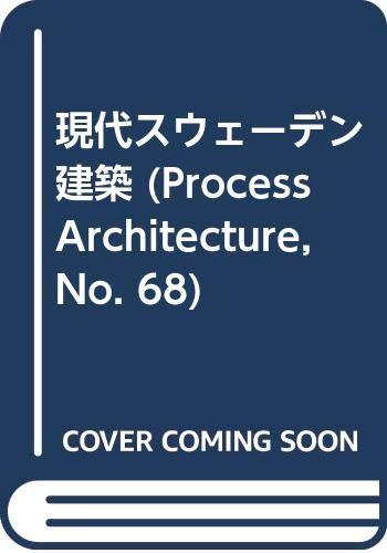 9784893310682: Swedish Contemporary Architecture (Process)
