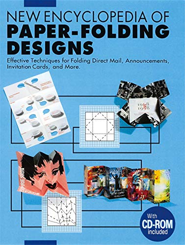 9784894442719: New Encyclopedia of Paper-Folding Designs: Effective Techniques for Folding Direct Mail, Announcements, Invitation Cards and more