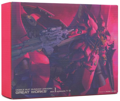 9784894571082: MOBILE SUIT GUNDAM UC GREAT WORKS- Completely Instruction Manual – (BOX1 episode1-3)