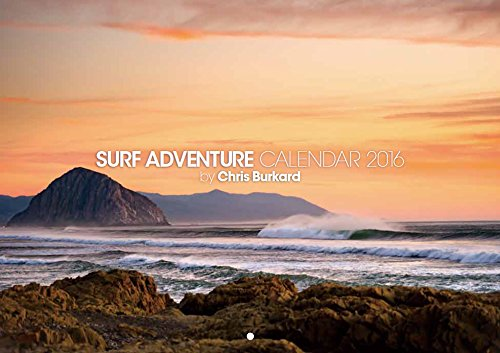 9784895127363: SURF ADVENTURE CALENDAR 2016 by Chris Burkard ([カレンダー])