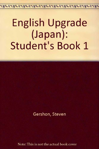9784895854115: English Upgrade (Japan): Student's Book 1
