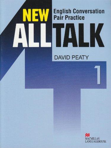 New Alltalk 1: English Conversation Pair Practice: David Peaty