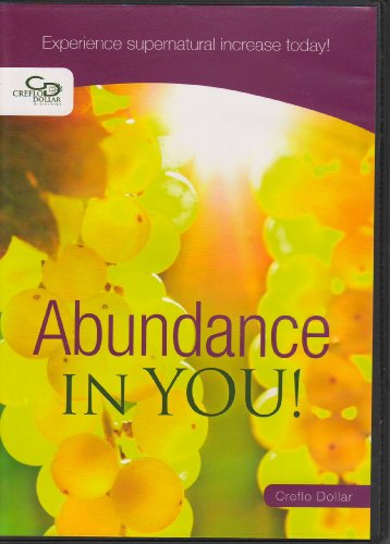 9784901243032: Abundance in You! Experience Supernatural Increase Today (Audo Cd)