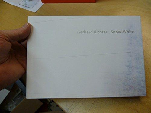 9784902070279: Gerhard Richter: Snow-white