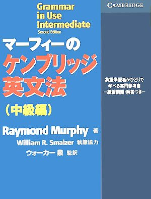 9784902290059: Grammar in Use Intermediate: Self-study Reference and Practice for Students of English