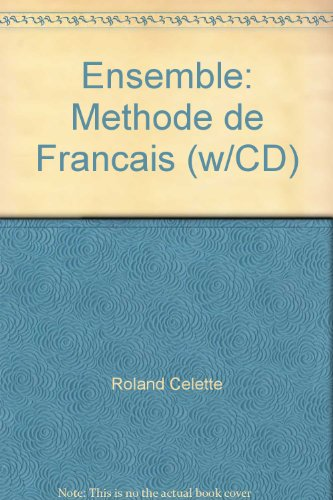 9784902964097: Ensemble: Methode de Francais (w/CD)