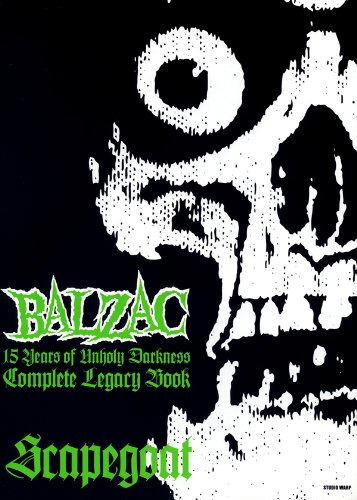 9784903451404: BALZAC 15 Years of Unholy Darkness Complete Legacy Book SCAPEGOAT