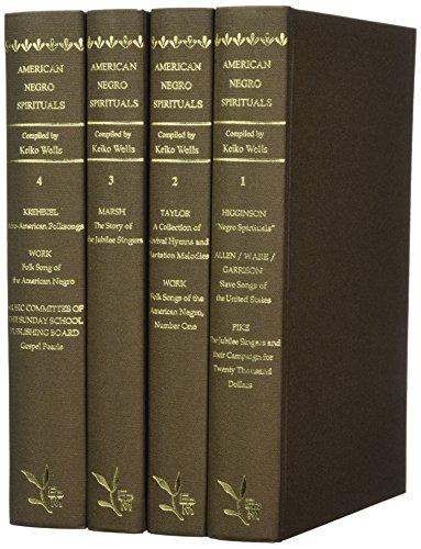 9784905211020: American Negro Spirituals (ES 4-vol. set)