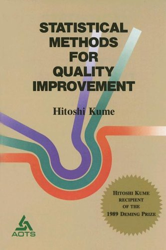 9784906224340: Statistical Methods for Quality Improvement