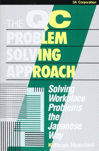 9784906224913: The Qc Problem Solving Approach: Solving Workplace Problems the Japanese Way