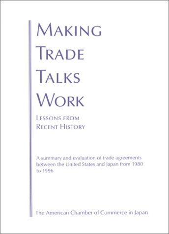 9784915682087: Making Trade Talks Work