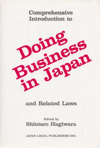 Comprehensive Introduction to Doing Business in Japan