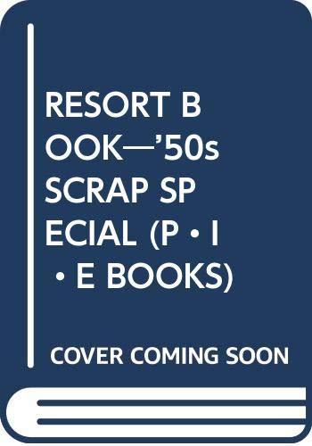 50s Scrap: Resort Book.