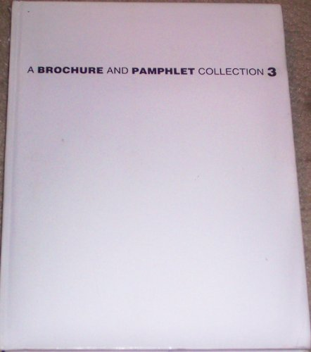 Brochure and Pamphlet Collection 3: A Collection: Pie Books