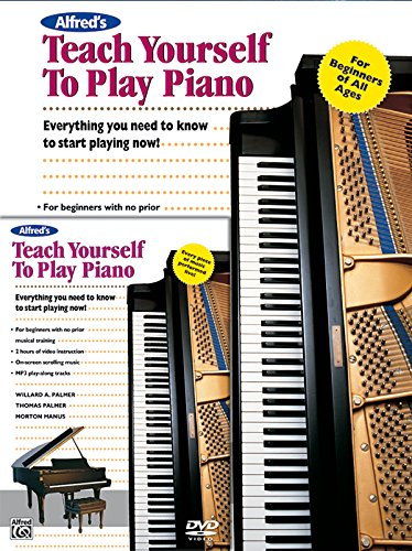 9784939033995: Alfred's Teach Yourself to Play Piano: Everything You Need to Know to Start Playing Now!, Book & DVD