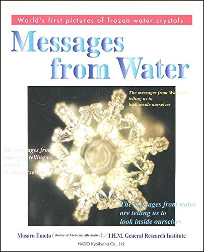 9784939098000: Messages from Water, Vol. 1