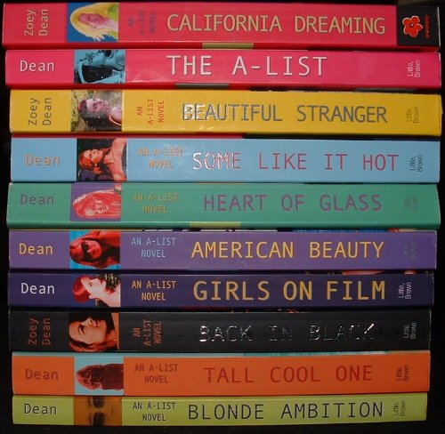 9784952010027: An A-List Novel Collection 10 Volumes (Blond Ambition, Tall Cool One, Back In Black, Girls on Film, American Beauty, Heart of Glass, Some Like It Hot, Beautiful Stranger, The A-List, California Dreaming)