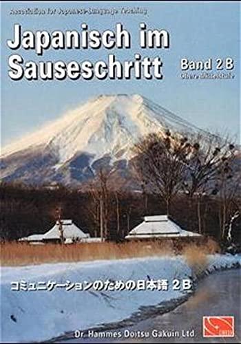 9784990038427: Japanisch im Sauseschritt 2B. Standardausgabe. Modernes Lehr- und Übungsbuch. Obere Mittelstufe (Lernmaterialien)