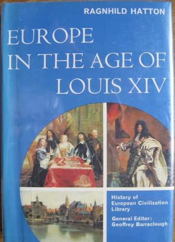 9785003301965: Europe in the Age of Louis XIV