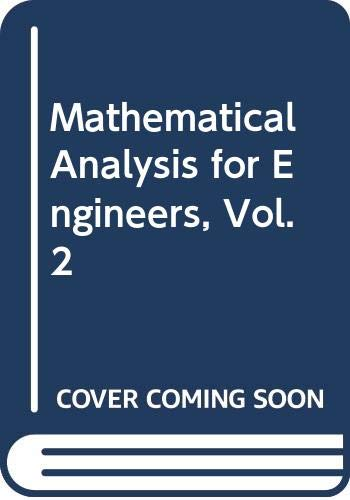 Mathematical Analysis for Engineers, Vol. 2: Krasnov, M, with