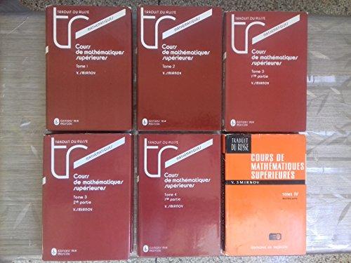 9785030007083: Cours de mathématiques supérieures, tome 1