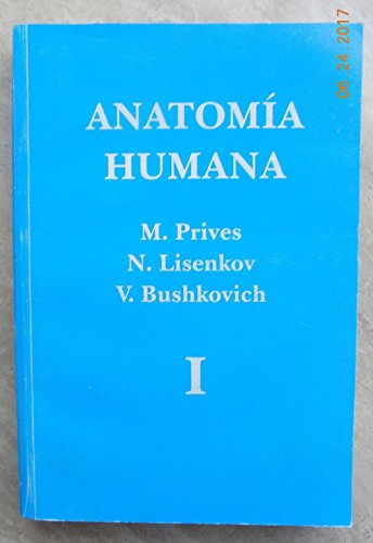AnatomÃa humana, Volume 1: M. Prives