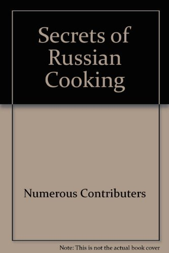 9785050058102: Secrets of Russian Cooking