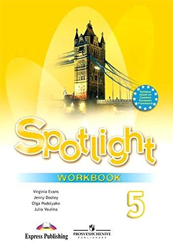 9785090376822: Angliyskiy v fokuse. Spotlight. Rabochaya tetrad. 5 klass. FGOS