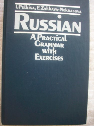 9785200000180: Title: Russian A practical grammar with exercises