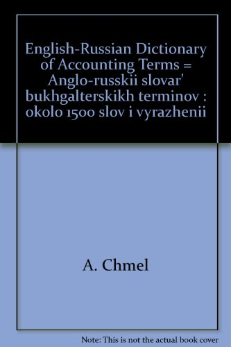 9785279020072: English-Russian Dictionary of Accounting Terms