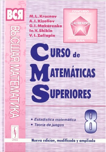 Curso de matematicas superiores. Tomo 8: Estadística