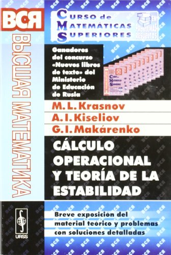 CALCULO OPERACIONAL Y TEORIA DE LA ESTABILIDAD: KISELIOV, A.;MAKARENKO, G.;KRASNOV,