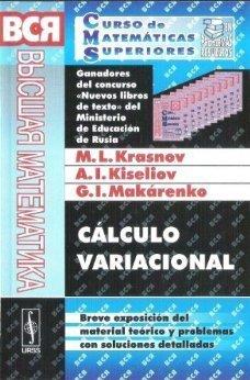 CÁLCULO VARIACIONAL: KRASNOV, M.L. ;