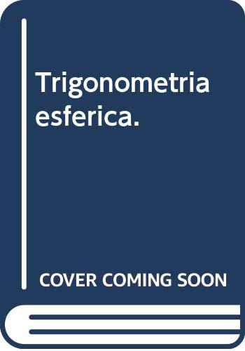 9785396002401: Trigonometria esférica.
