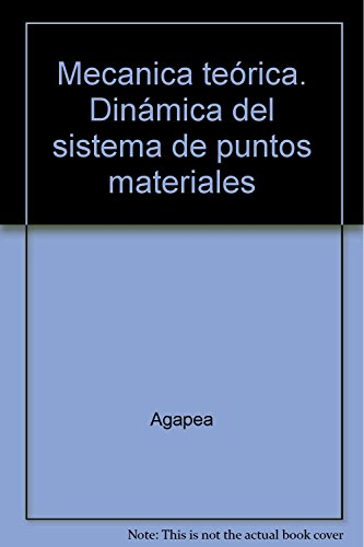 9785396003811: Mecanica teórica. Dinámica del sistema de puntos materiales