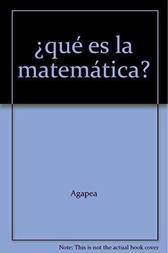 9785396003842: ¿qué es la matemática?