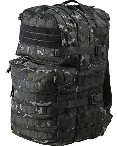 9785423111861: 40 ltr Black BTP Medium Molle Military Rucksack