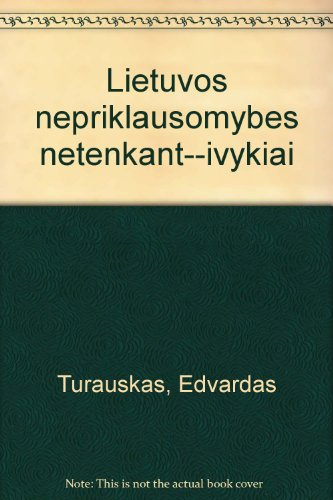 Lietuvos nepriklausomybes netenkant--ivykiai: Turauskas, Edvardas