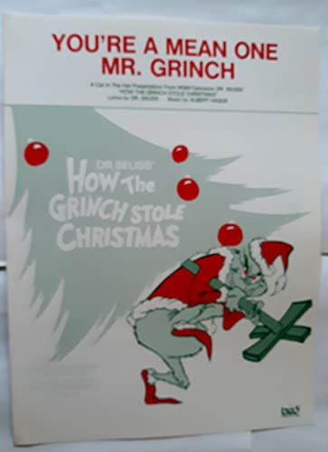 9785497999372: You're a Mean One Mr. Grinch (Dr. Seuss' How the Grinch Stole Christmas)