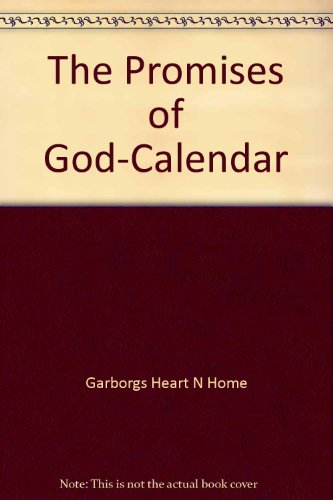 The Promises of God-Calendar: Garborgs Heart N