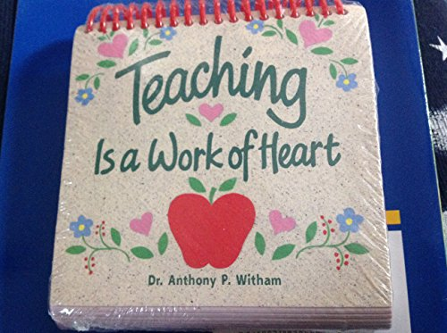 9785504401270: Teaching Is a Work of Heart: Small-Size Daybrightener