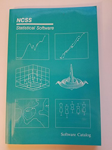 9785511359755: Ncss Statistical Software