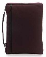 9785511838496: Canvas Burgundy Extra Large Bible Cover