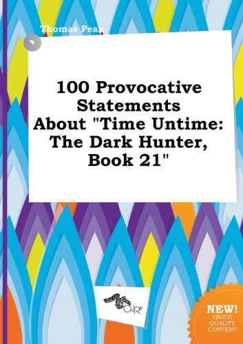 9785517305831: 100 Provocative Statements about Time Untime: The Dark Hunter, Book 21