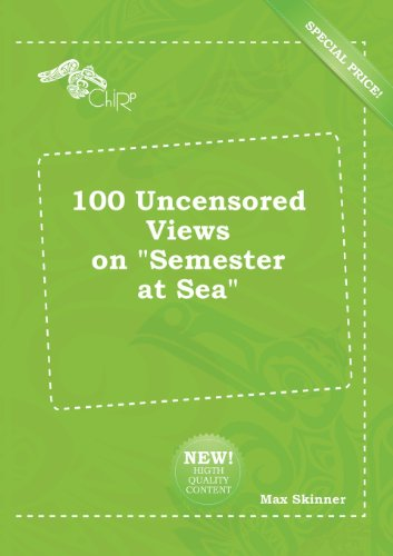 9785518230095: 100 Uncensored Views on Semester at Sea
