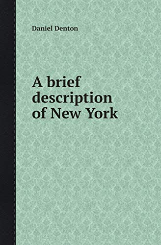 9785518415140: A Brief Description of New York